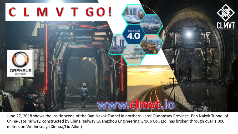 China LPDR railways connecting CLMVT to Thailand 4.0 EEC development projects