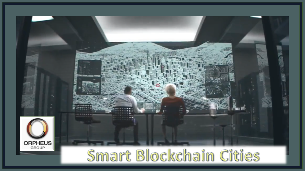 Smart Blockchain Cities