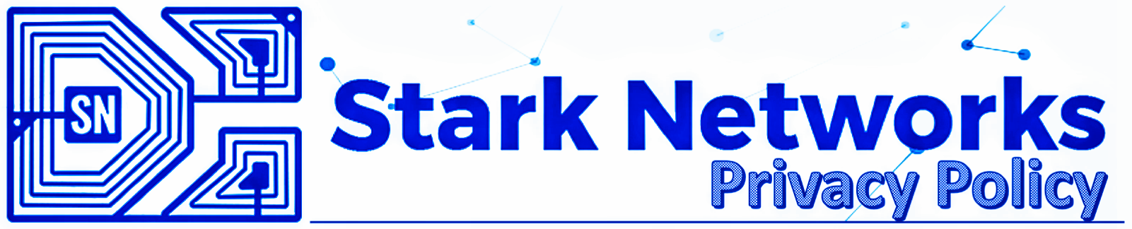 Stark Networks Privacy Policy Banner