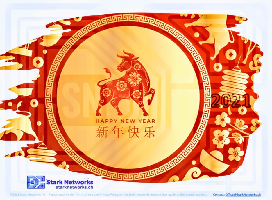 Stark Networks Chinese Year of the OX
